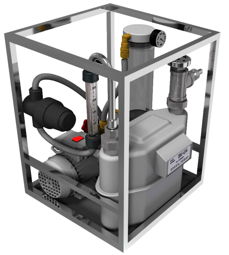 Portable-Gas-Sampler-with-rotary-vane-pump