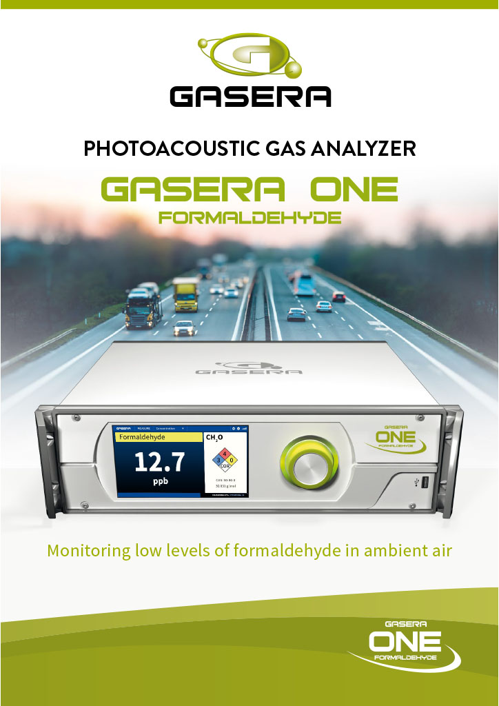 Analizor formaldehida GaseraONE